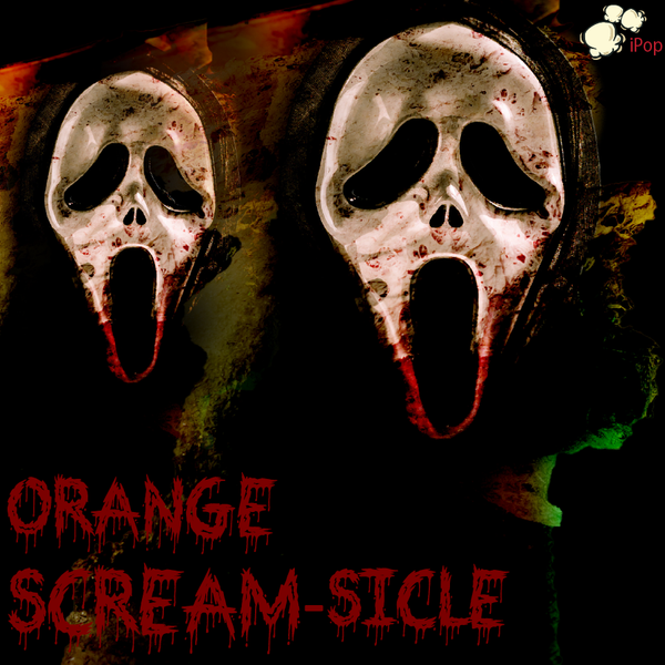 Orange Scream-sicle WICKED POPcorn