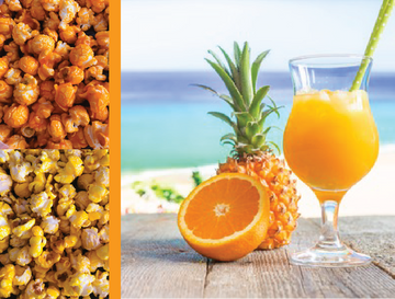 Orange Pineapple Blend Gourmet Popcorn