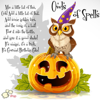 Owls Of Spells WICKED POPcorn