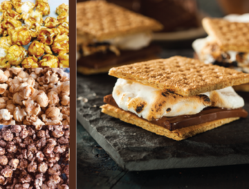 S'mores Flavored Popcorn