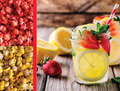 Strawberry Lemonade Blend Gourmet Popcorn