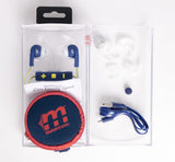 Malektronic Zero Gravity Sport Bluetooth Earphones with Reflective Wire