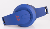 Malektronic Gravity Wireless Headphones - Bolts Blue