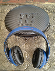 Malektronic Gravity Bluetooth Headphones - Bolts Blue