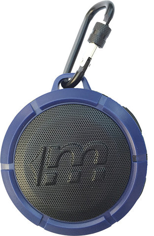 Malektronic Hat Trick Bluetooth Waterproof Speaker - Bolts Blue