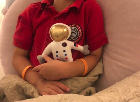 Malektronic Rocketman Soft Plush Toy 7 inch - Tampa Bay Astronaut as seen on TV …