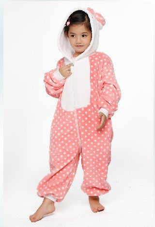 Hello Kitty Polka Dot Kids Onesie | Onesieful