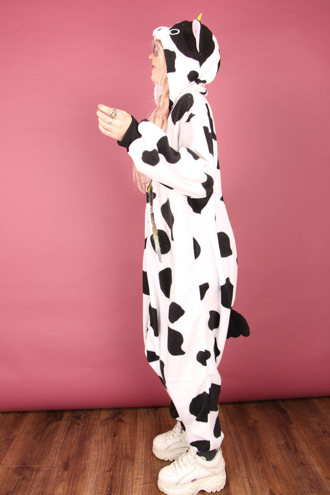 Black And White Milk Cow Onesie | Onesieful