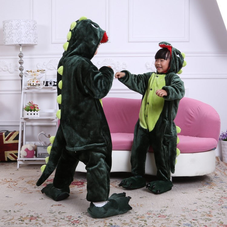 Green Dinosaur Kids Onesie | Onesieful