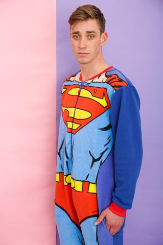 Muscle Up Superman Onesie | Primark AW15