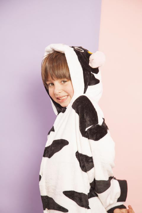 Black And White Cow Kids Onesie | Onesieful