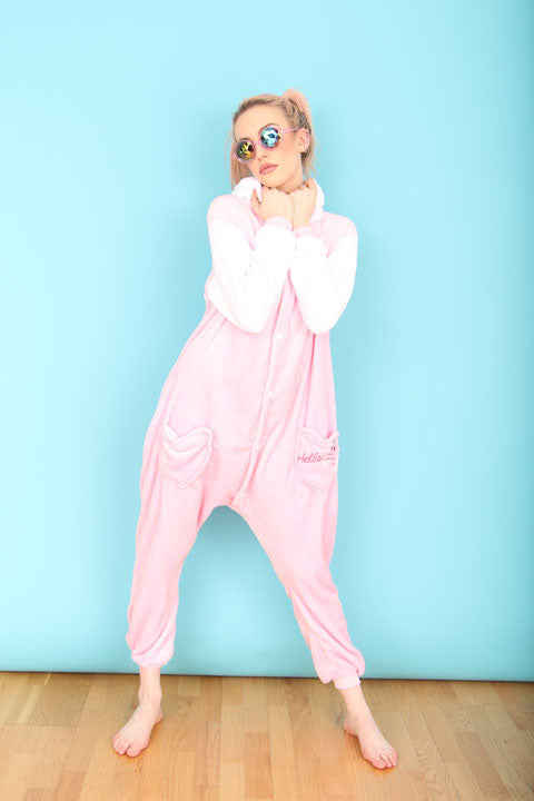 Pink Hello Kitty Onesie