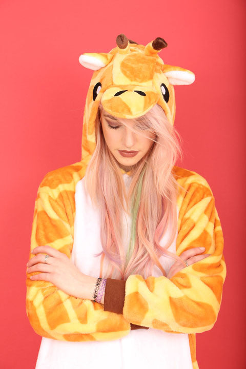 Orange Giraffe Onesie | Onesieful