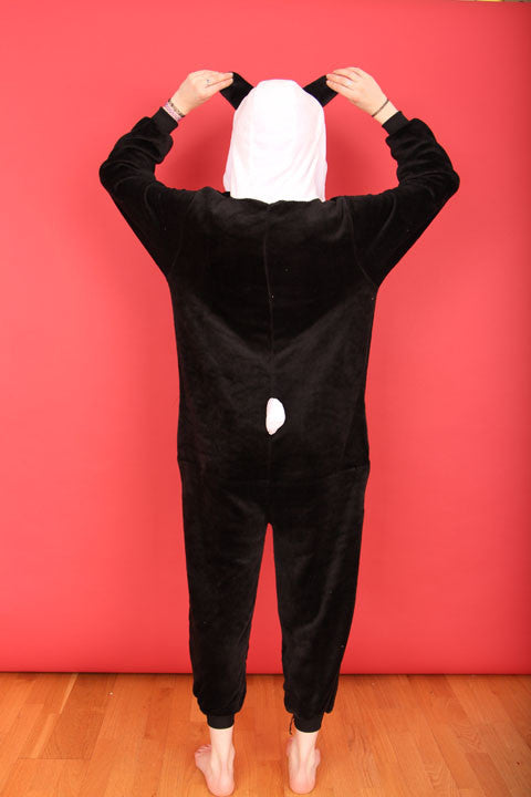 Black And White Panda Onesie