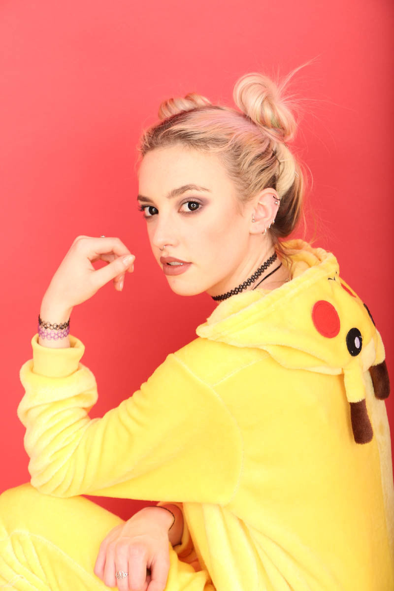 Yellow Pikachu Onesie | Onesieful