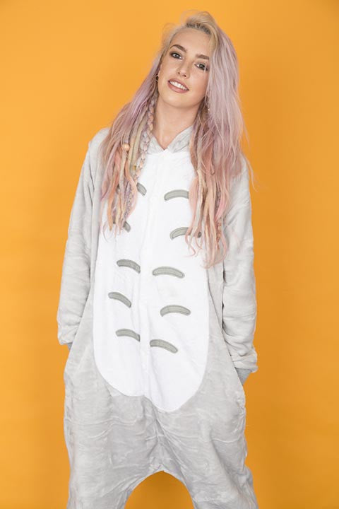 Magical Grey Mouse Onesie | Wonzee
