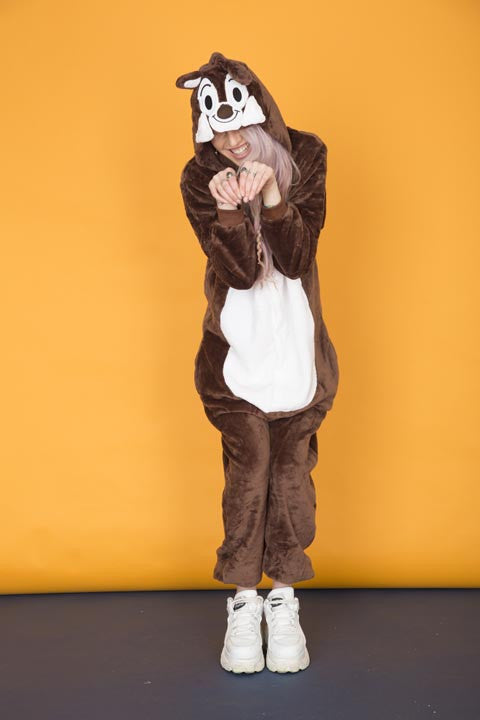Brown Chipmunk Onesie | Wonzee