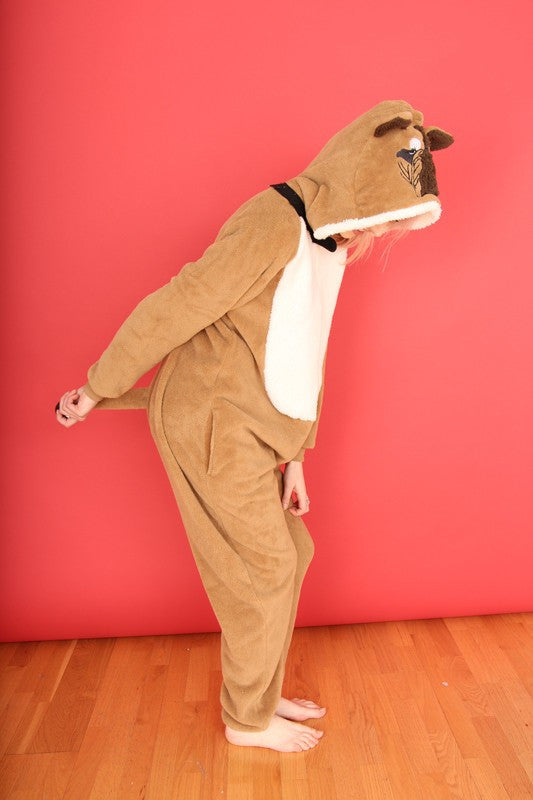 'Who let the dogs out!' Bull Dog adult onesie | Primark