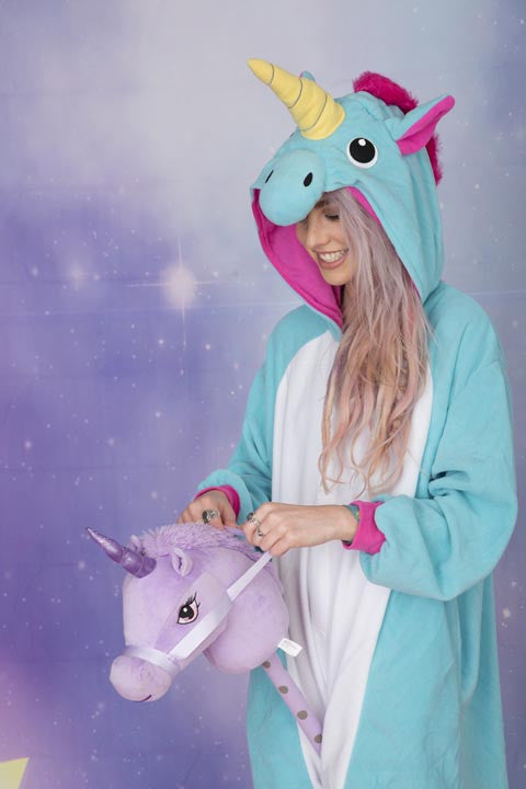Premium Royal Blue Unicorn Onesie | Onesieful