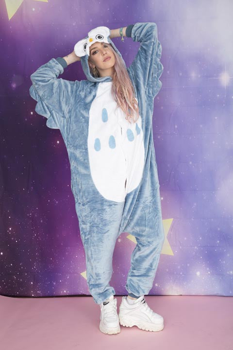 Blue Owl Onesie | Onesieful