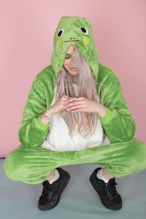 Green Frog Onesie | Onesieful