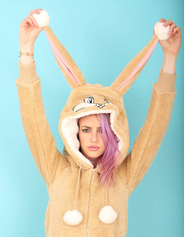 Honey bunny fluffy zippy | Primark