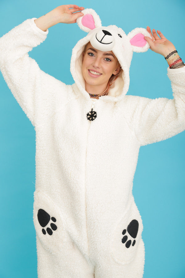 Percy the Polar Bear Onesie | Primark AW15