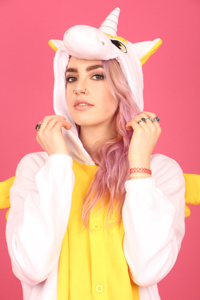 Premium Royal Gold Unicorn Onesie | Onesieful