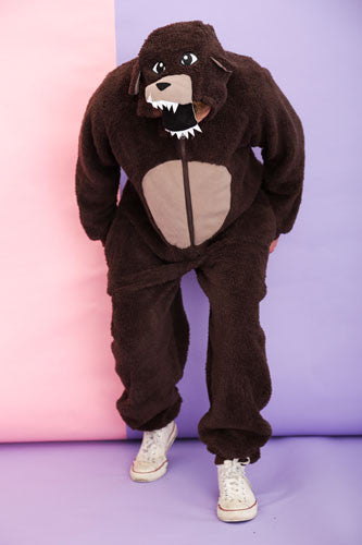 Mens Grizzly Bear Onesie | Primark