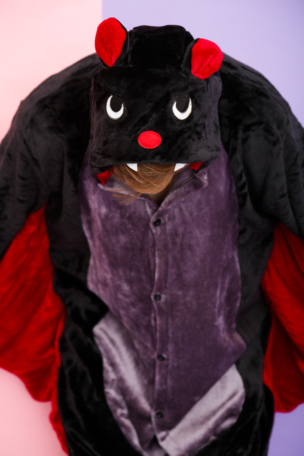 Scary Black Bat Onesie | Wonzee