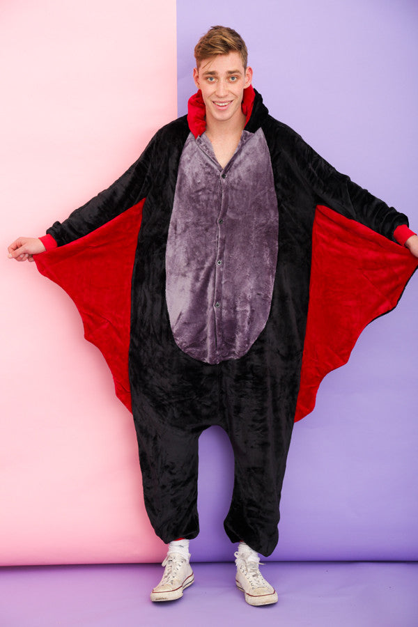 Scary Black Bat Onesie | Onesieful