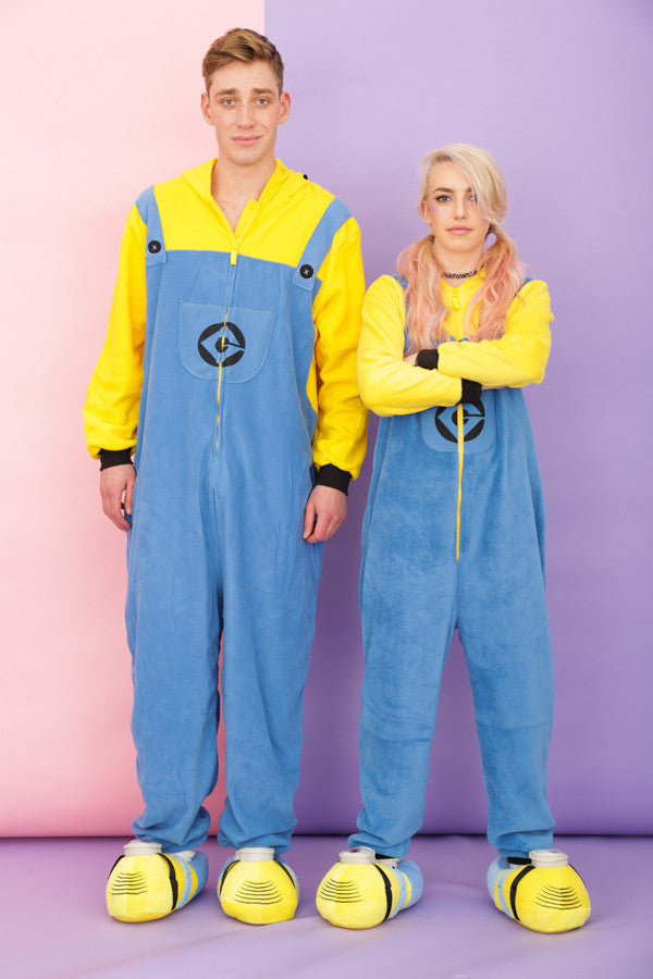 Mens Despicable Me 3D 'Two Eyed' Minion Onesie | Primark