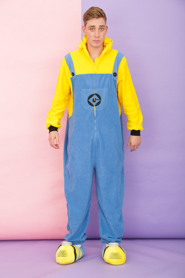 Mens Despicable Me 3D 'Two Eyed' Minion Onesie | Primark AW15
