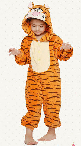 Orange Tigger Kids Onesie | Onesieful