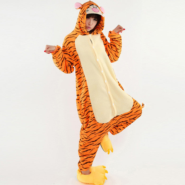 Orange Tigger Onesie | Onesieful