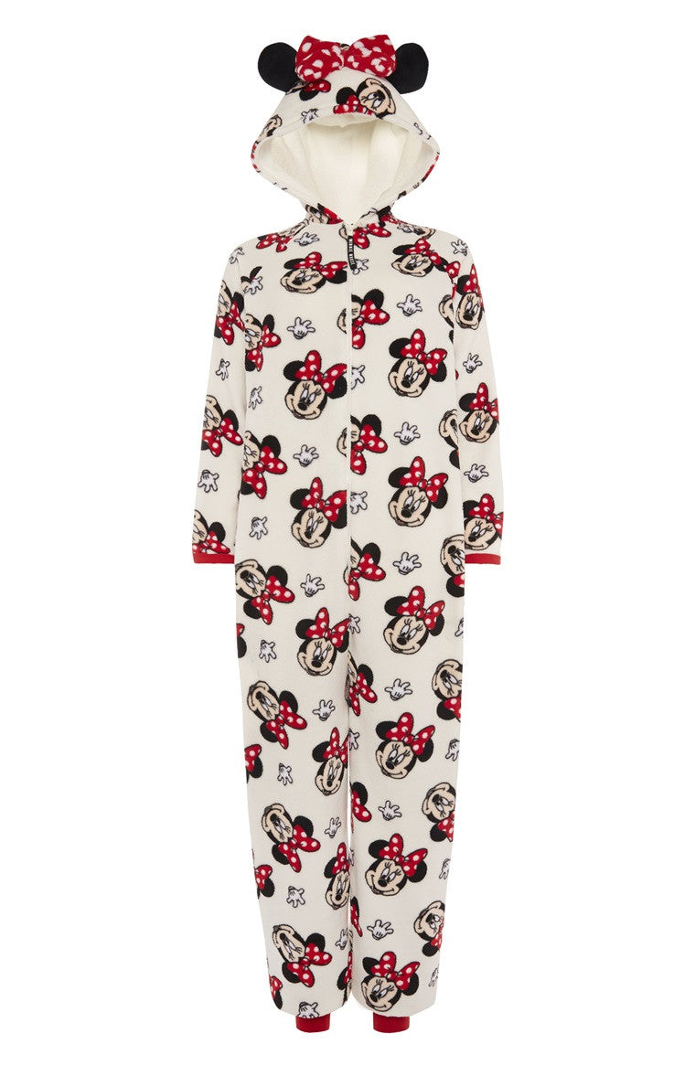Red Bow Minnie Mouse Onesie| Primark
