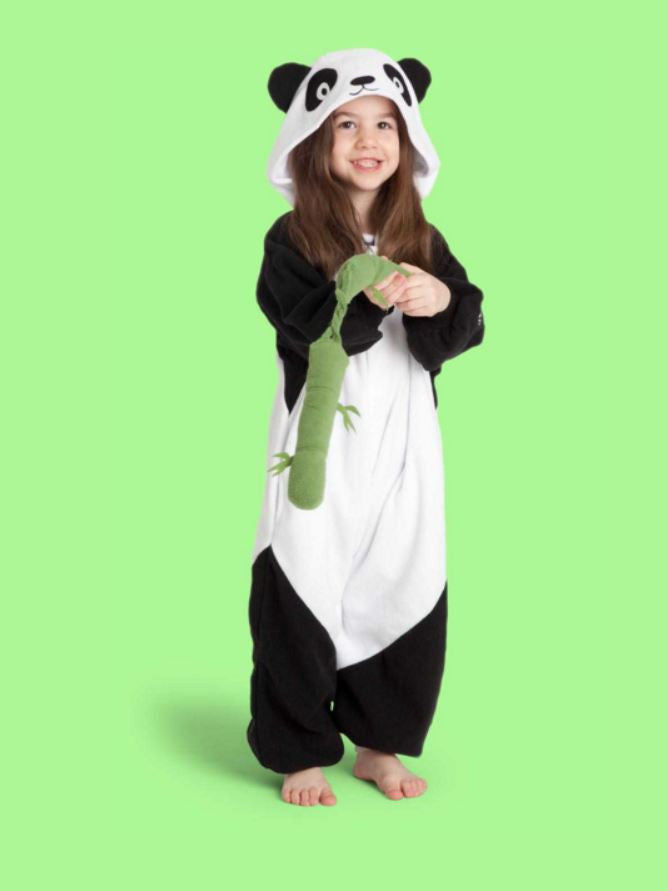 Black And White Panda Kids Onesie | Wonzee