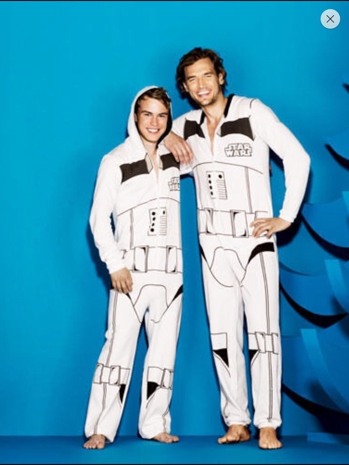 Mens Star Wars Storm Trooper Onesie | Primark