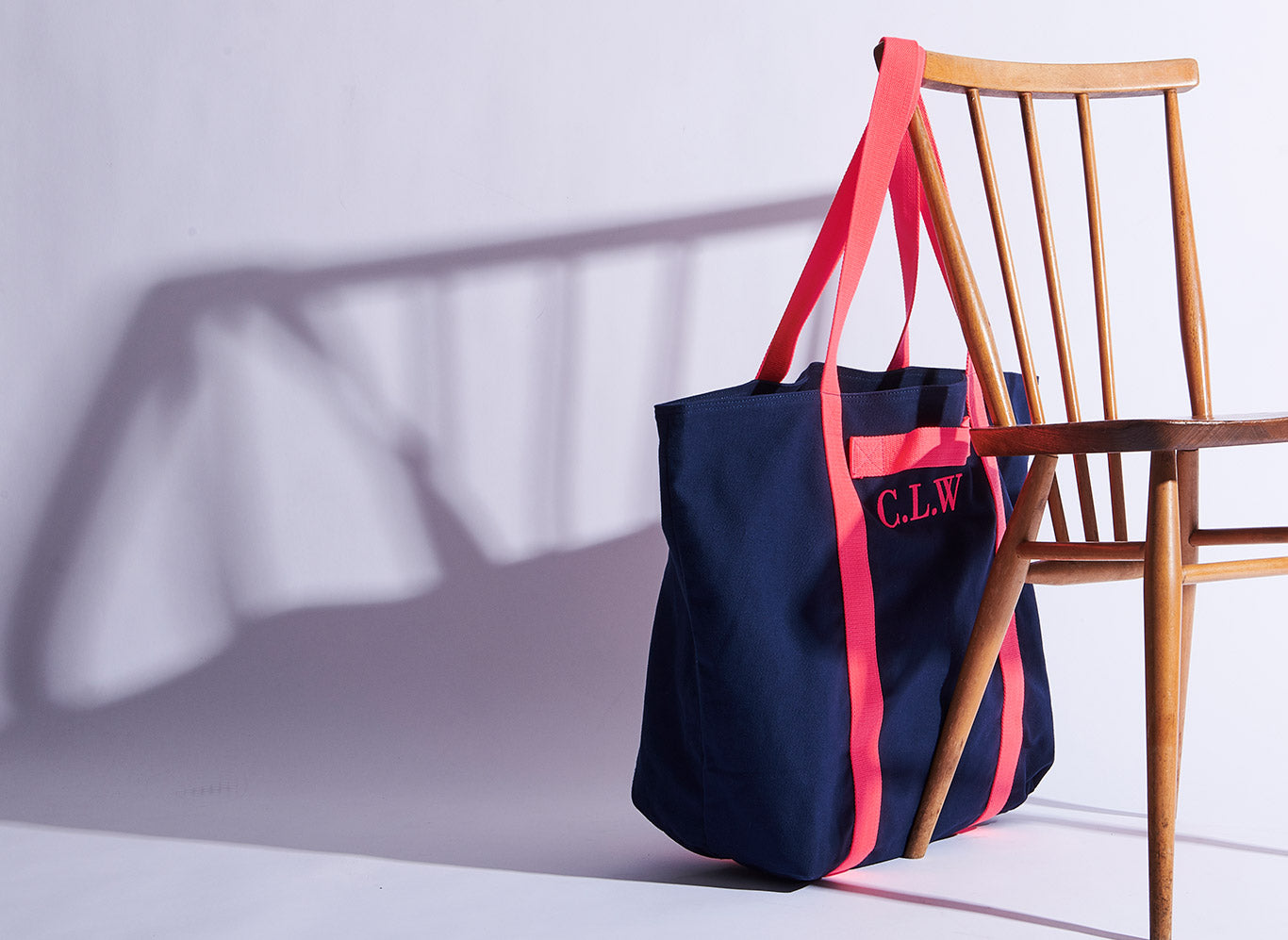 size 7 buying now great look Everything Bag - Navy - Neon