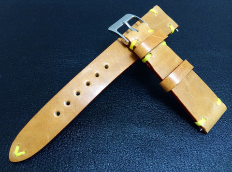 Vintage (1980's) Louis Vuitton Leather material watch Strap for Rolex, IWC - (20mm/16mm)