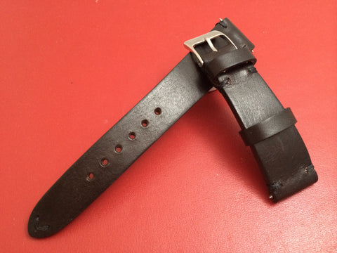 Leather watch Strap for Rolex, Dark Brown watch strap,  20mm watch band straps
