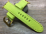 Apple Watch Band, Apple Watch Strap, Apple watch 38mm, 42mm, Lime Epson watch band, iwatch - eternitizzz-straps-and-accessories