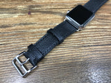 Apple Watch Hermes, Apple Watch 44mm 40mm, Apple Watch Series 5, Black Togo Leather, Double Tour Series 4, Apple Watch Band Straps - eternitizzz-straps-and-accessories