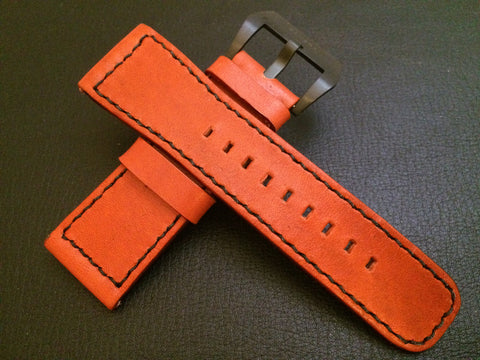 SevenFriday watch band, SevenFriday watch strap, 28mm Watch Strap, Orange Watch Strap Replacement