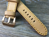 Apple Watch 42mm 44mm, Apple Watch Band 38mm 40mm, Apple Watch Strap, LV Leather Watch Strap - eternitizzz-straps-and-accessories