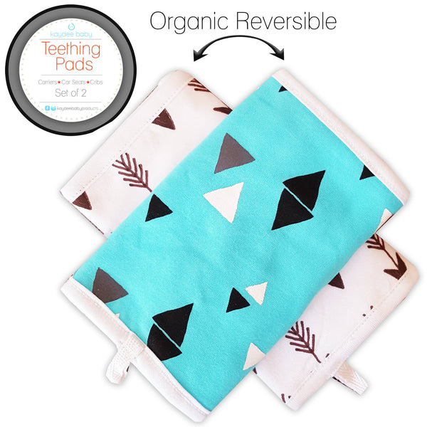 New Carrier Teething Pad Prints: Arrows & Triangles