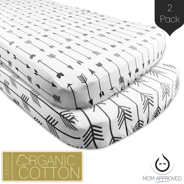 Crib Sheet Upgrade: Organic Flannel