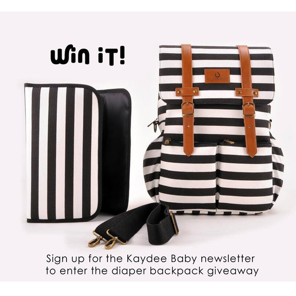 Win a Kaydee Baby Diaper Backpack