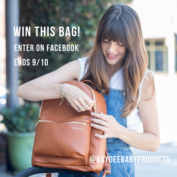 Win Diaper Backpacks For You + A Friend