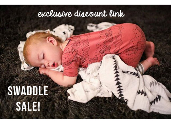 Black Friday Deal: 25% Off Swaddles